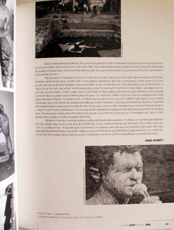 Locus+ 1993-1996, edited Samantha Wilkinson, 1996. 1st Edition. Sample pages.