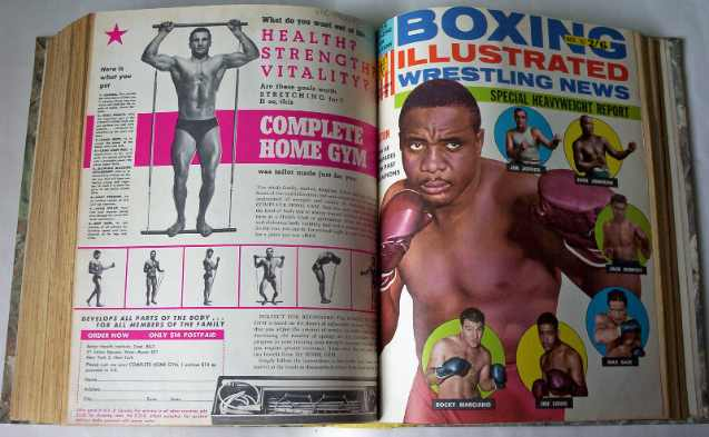 Boxing Illustrated Wrestling News January-December 1963. Private Commission volume.