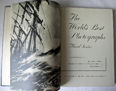 The World's Best Photographs, Third Series, Odhams Press, 1947. 1st Edition