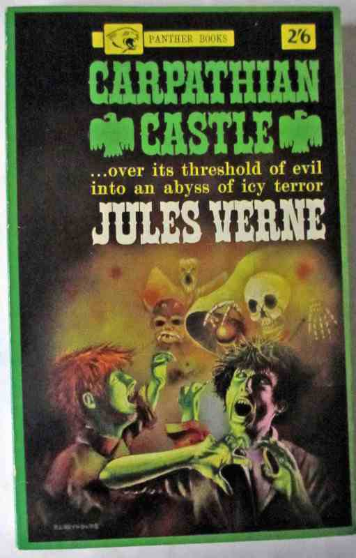 Carpathian Castle by Jules Verne, Panther Books. First Edition 1963.