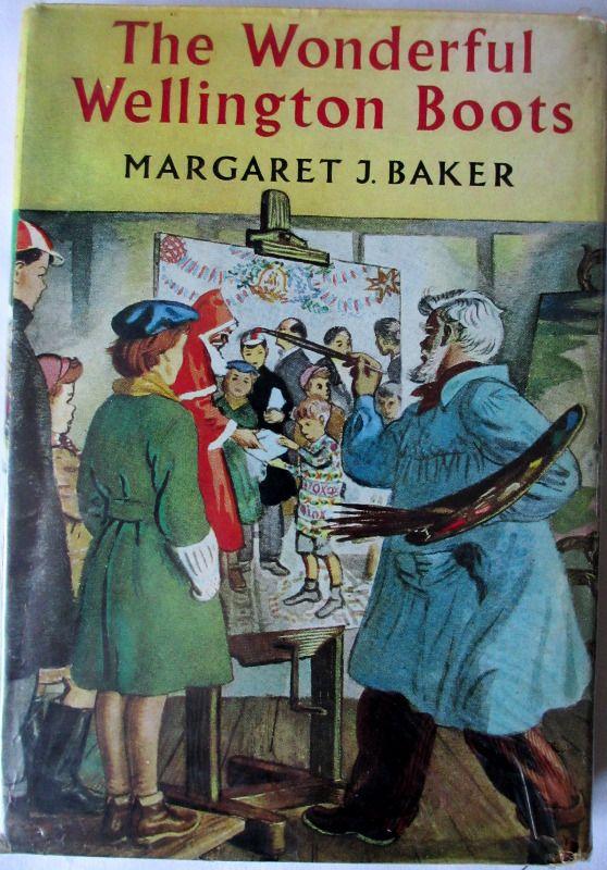 The Wonderful Wellington Boots by Margaret J. Baker, 1967.