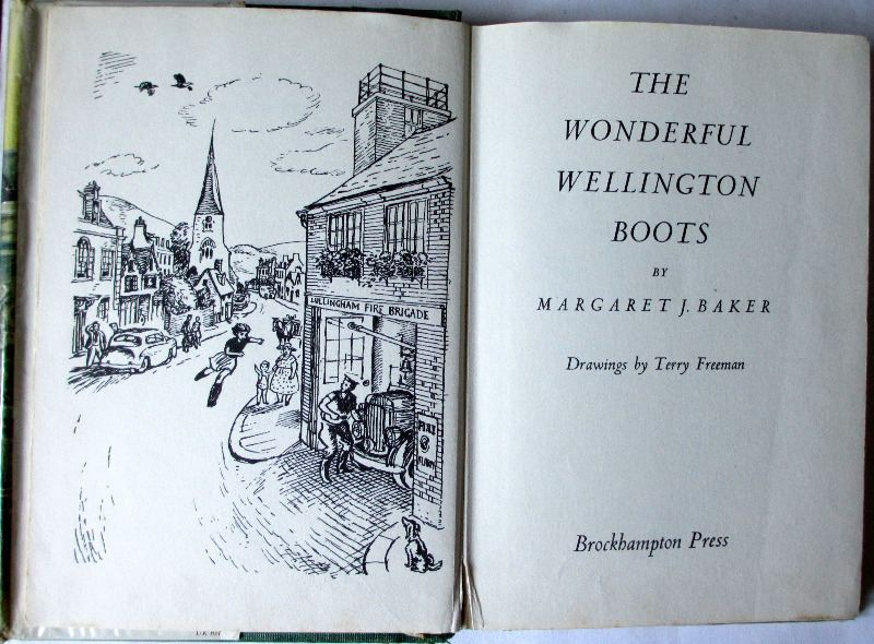 The Wonderful Wellington Boots by Margaret J. Baker, 1967.