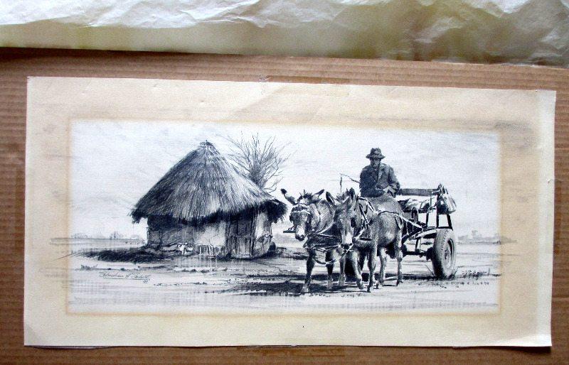 Rural SA scene, signed Sebastian Siebert 93.