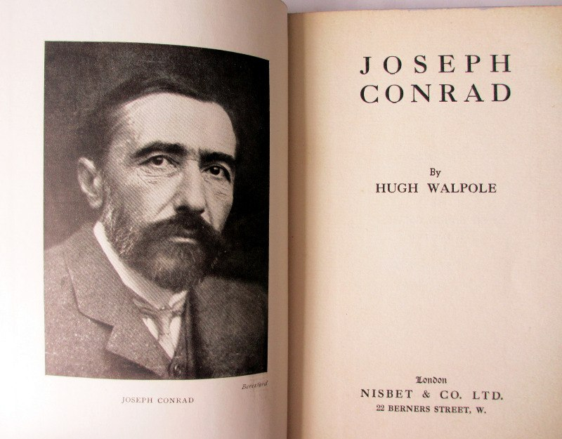 Joseph Conrad by Hugh Walpole, 1924.