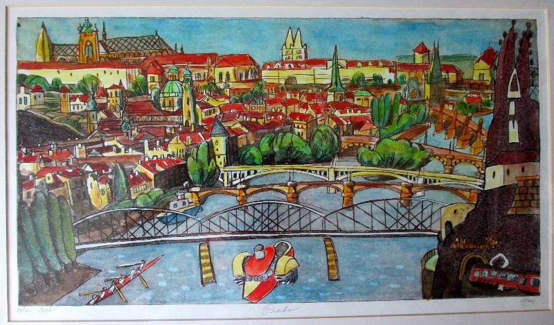 Czech watercolour