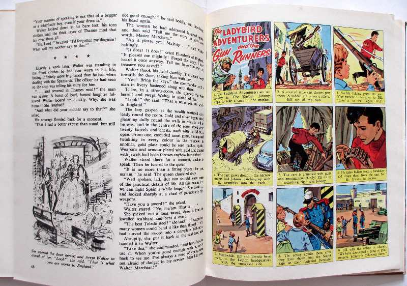 Swift Annual 1963. Sample Strips.
