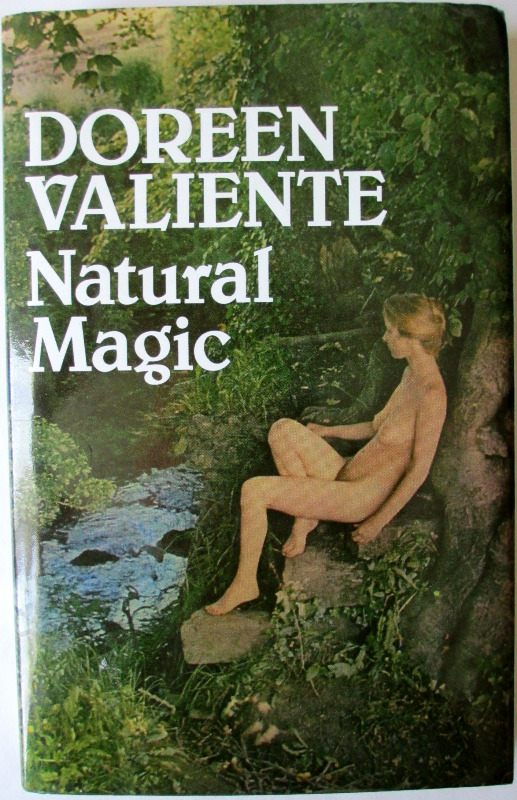 Natural Magic by Doreen Valiente, BCA, 1985.