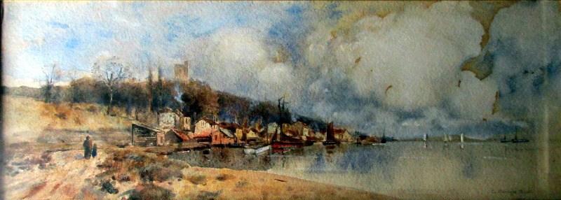 Westcliffe Essex, signed L. Burleigh Bruhl, c1900.