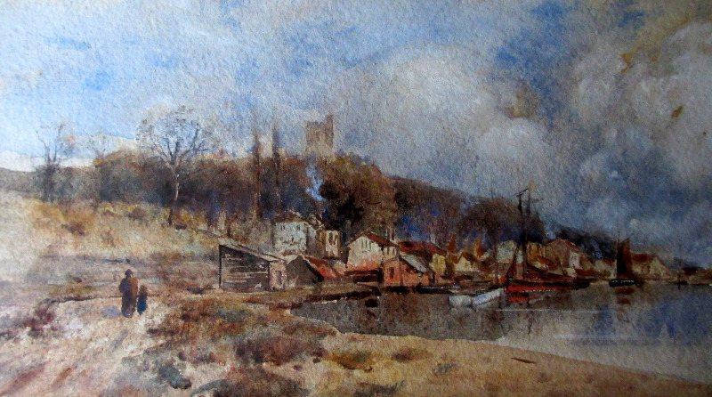 Westcliffe, Essex, signed L. Burleigh Bruhl, c1900.