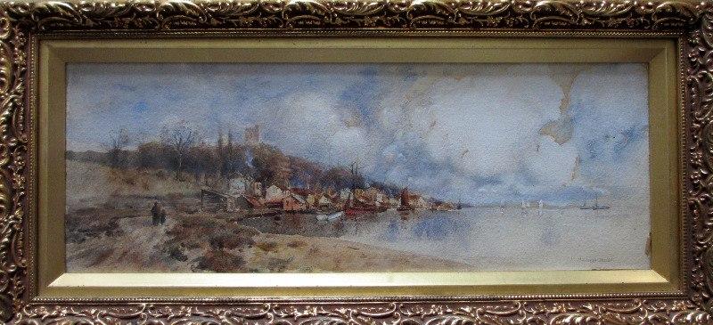 Westcliffe, Essex, signed L. Burleigh Bruhl. c1900.