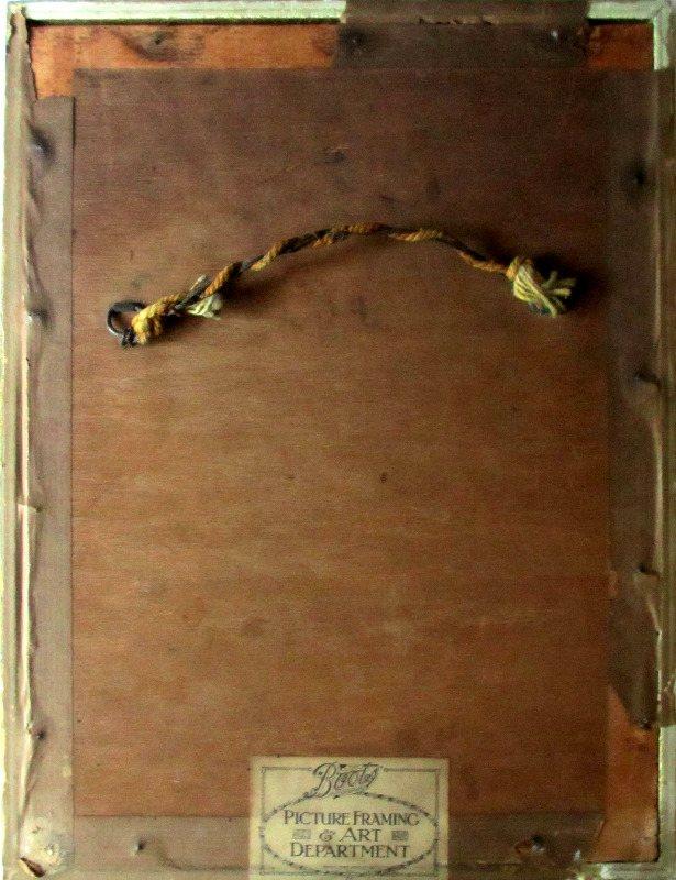St. Ives, signed W. Sands, c1920. Verso.