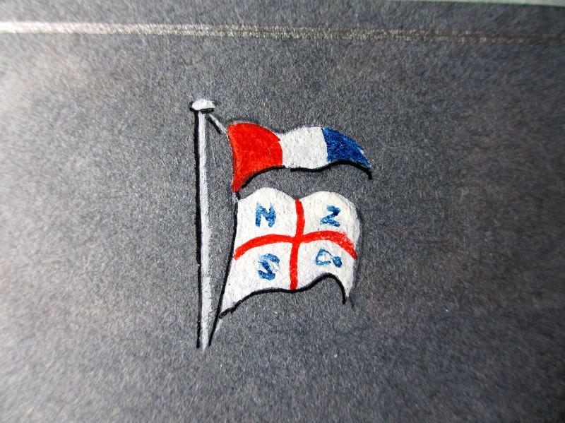 Empire Windrush. House flag.