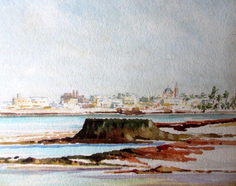 Tripoli watercolour.