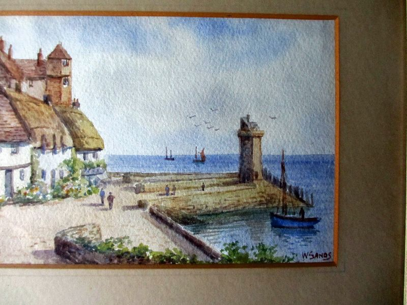 Lynmouth, W. Sands, detail.