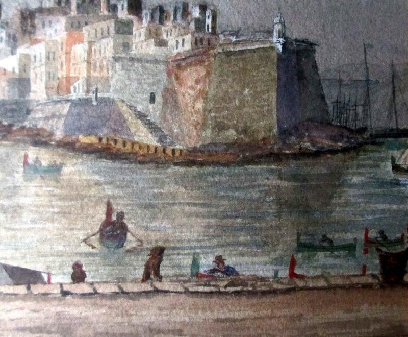 Scala Point Malta, detail.