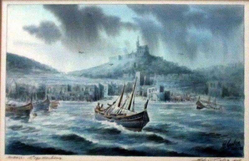 Mgarr Gozo, signed Ed. Galea, 1978.