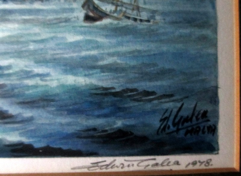 Mgarr, Gozo, signatures and date.