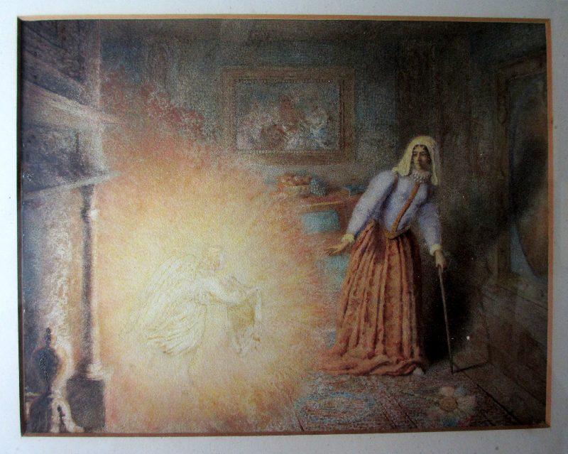 Marguerite's Vision. c1850.