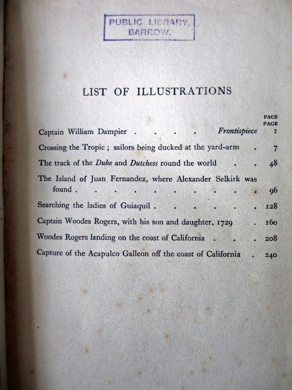 List of Illustrations.