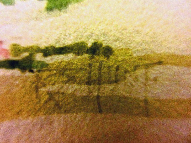 Signature detail.
