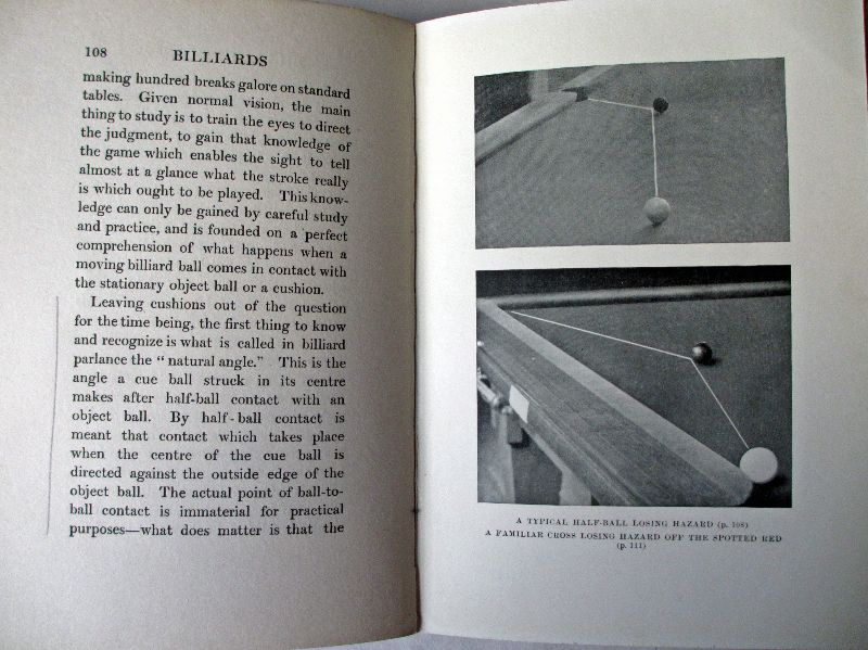 Billiards by Tom Reece, 1915. Sample pages.