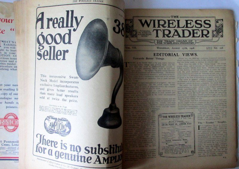 The Wireless Trader, 1926, title page.