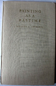 Painting as a Pastime by Winston S. Churchill, 1948. First Edition.  SOLD.