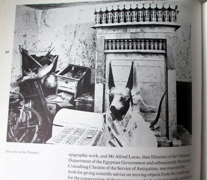 Treasures of Tutankhamun, Held at the British Museum 1972. First Edition. 1972.