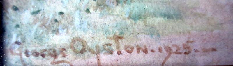 Oyston's signature.