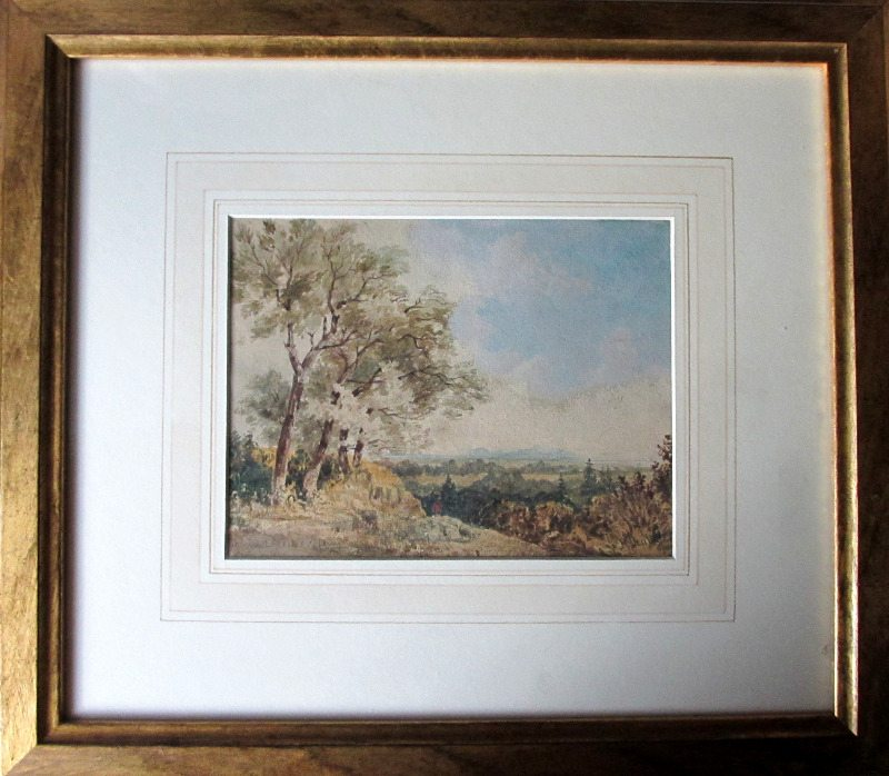 Behind Queensferry, watercolour, signed W. Muller, 1839.