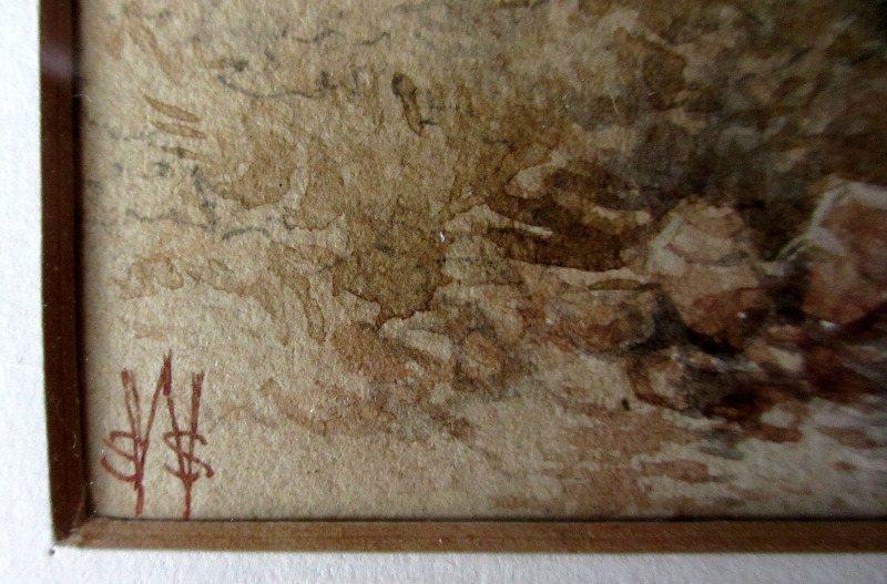 Signature monogram.