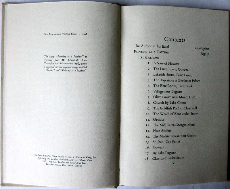 Copyright and contents pages.