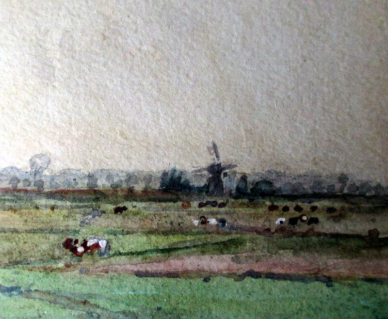 Suffolk landscape, detail.