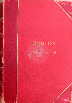 Modern Artists. A Series of Illustrated Biographies, F.G. Dumas. c1885. 1st Edition.