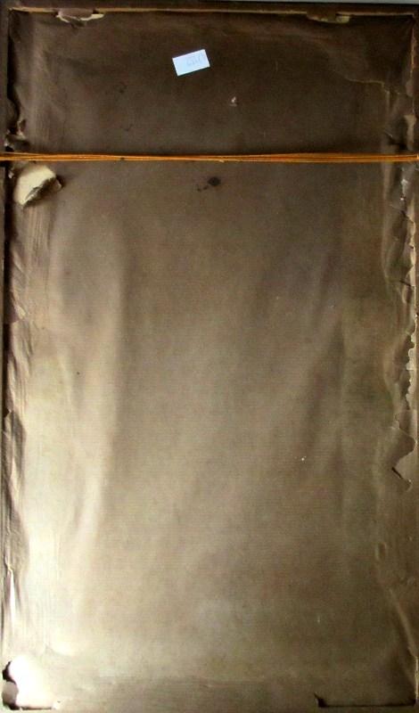 St. Ives, signed W. Sands, c1930. Frame, verso.