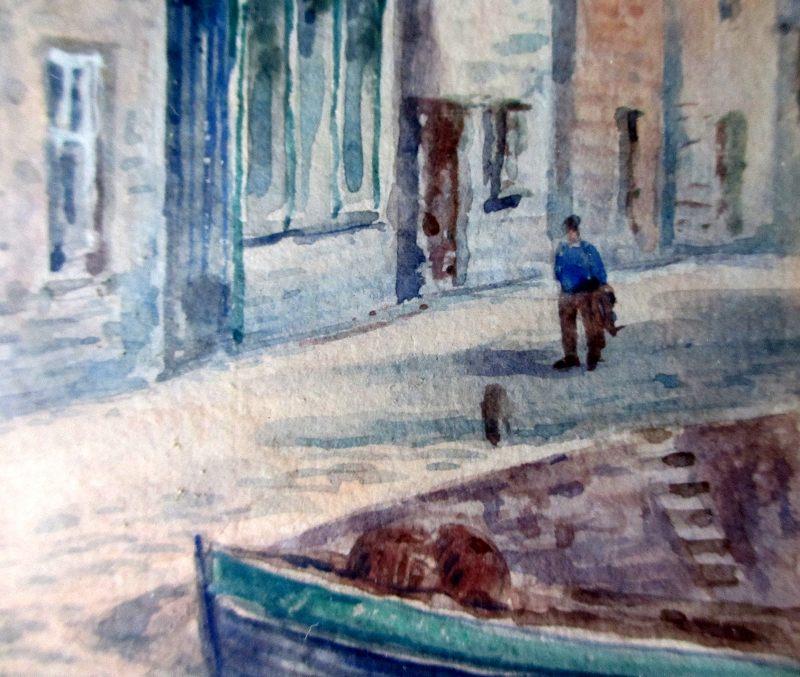 Harbourside St Ives, detail