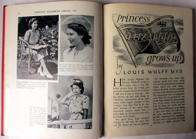 Daily Mail Annual, 1947. Princess Elizabeth.