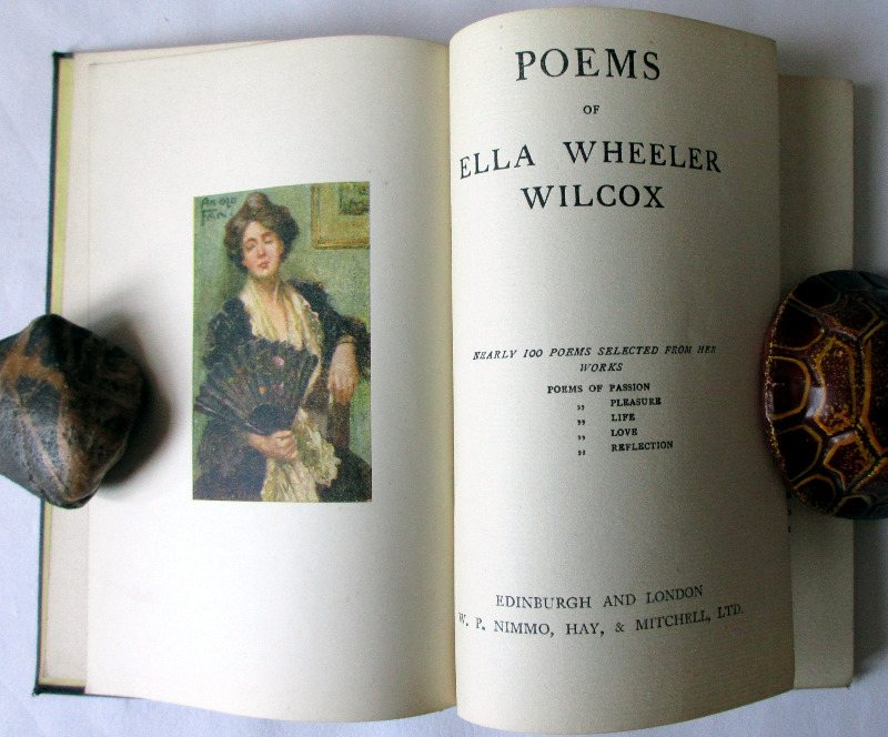 Poems of Ella Wheeler Wilcox, 1910.