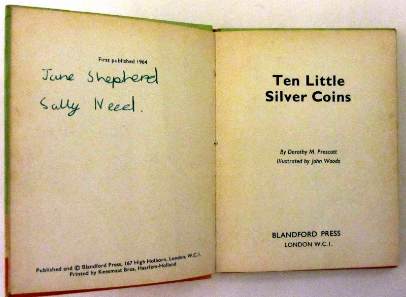 Ten Little Silver Coins, 1964.