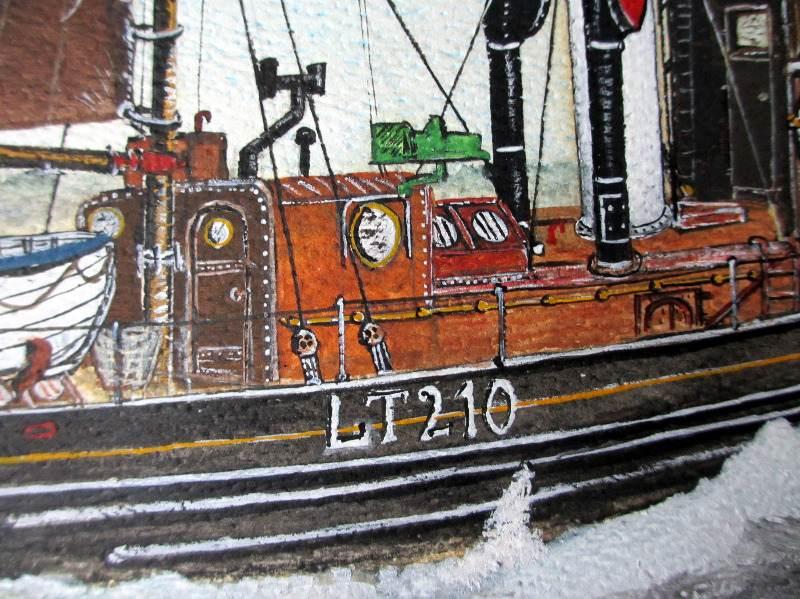 Kessingland, LT210, detail.