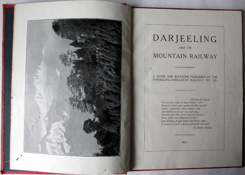 Darjeeling. Title page and frontispiece.