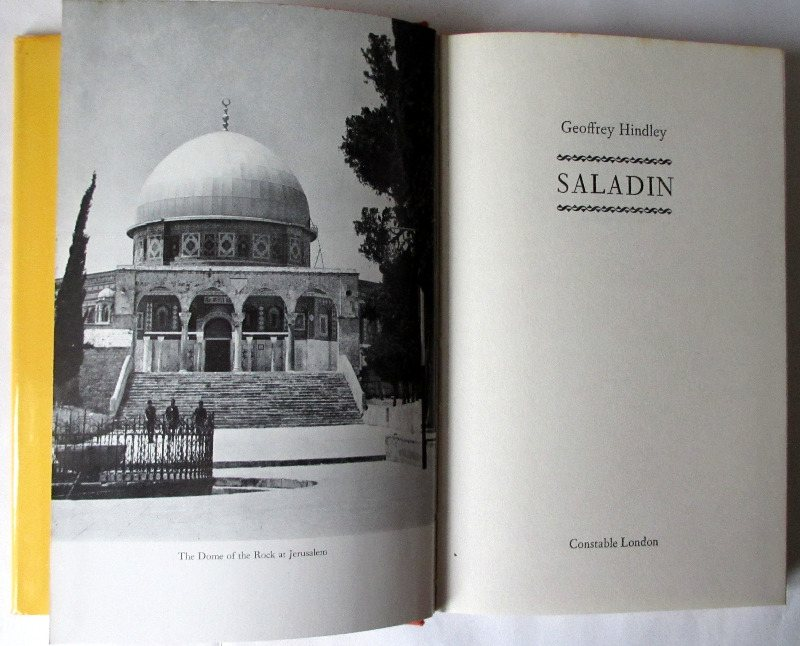 Saladin, frontispiece and title page.