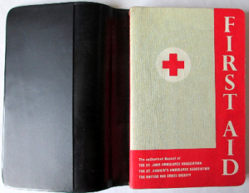 First Aid, The St. John Ambulance Association, 2nd Edition 1965.