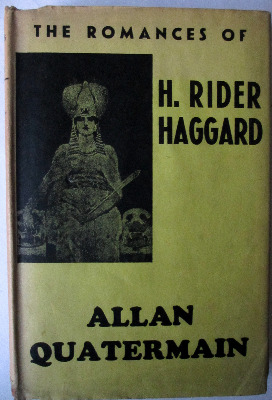 Allan Quartermain by Sir Rider Haggard, New Impression, February 1940.