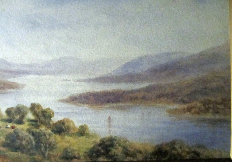 Coniston Water, detail.