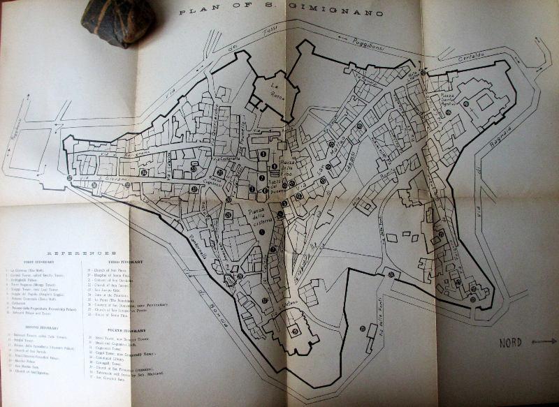 San Gimignano, City Plan inside back cover.