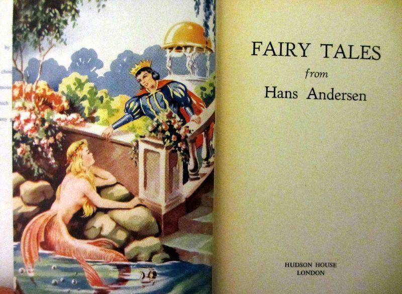 Hans Andersen. Frontispiece.