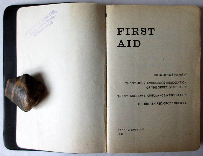 First Aid, 1965. Title page.