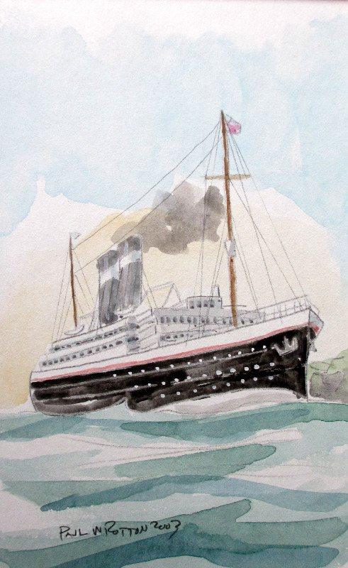 Passenger Ship, Paul W Rotton 2003.