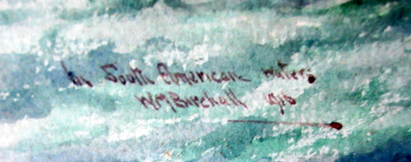 Signature, title and date.